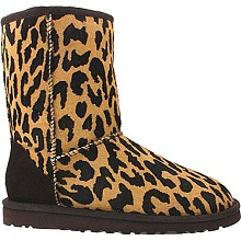 UGG Australia Women&#8217;s Classic Short Exotic Cheetah Boots